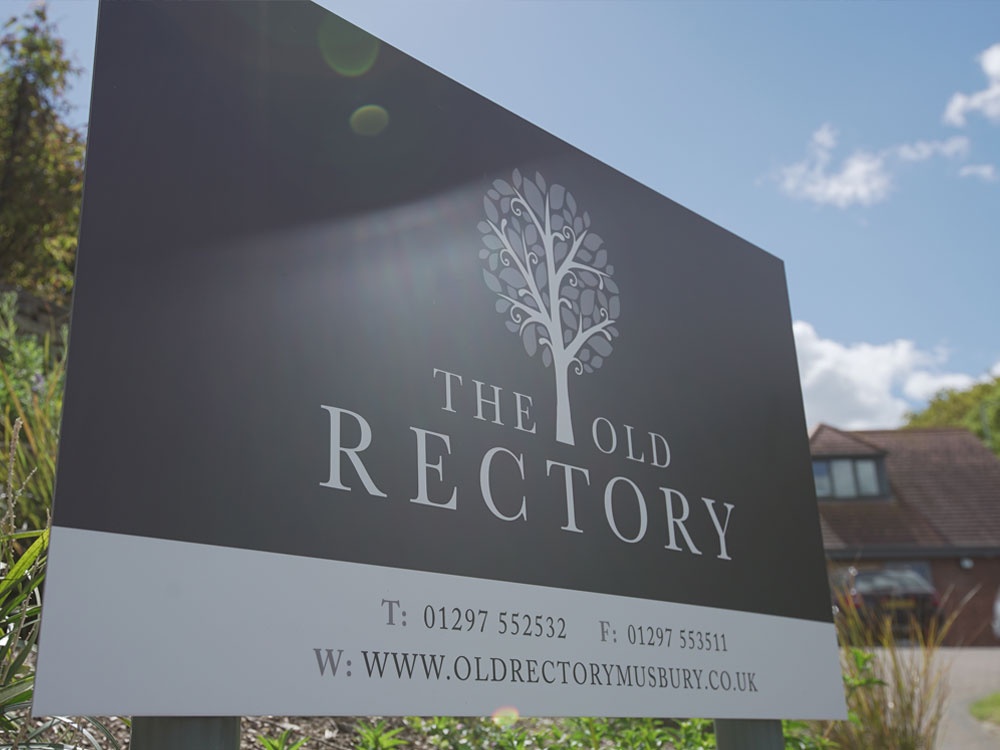 Old Rectory House Sign